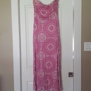 The Limited Paisley Strapless Sundress
